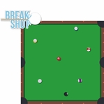 Tabletop Games: Billiards 2 Piece Laser Die Cut Kit
