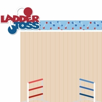 Tailgate: Ladder Toss 2 Piece Laser Die Cut Kit