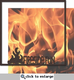 Take A Hike: Fireside Fun 12 x 12 Overlay Quick Page Laser Die Cut