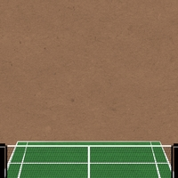 Tennis: Game Set Match 12 x 12 Paper