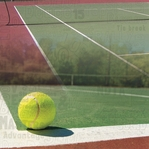 Tennis: Game Set Match 12x12 Paper