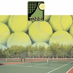 Tennis: Tennis 2 Piece Laser Die Cut Kit