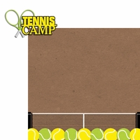 Tennis: Tennis camp 2 Piece Laser Die Cut Kit