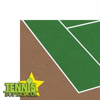 Tennis: Tennis Superstar 2 Piece Laser Die Cut Kit