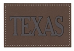 Texas Patch Laser Die Cut