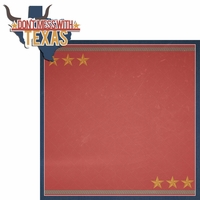 Texas Travels: TX Don't Mess With Texas  2 Piece Laser Die Cut Kit