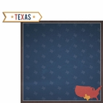 Texas Travels: TX Label 2 Piece Laser Die Cut Kit