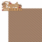 Thankful: Family Traditions 2 Piece Laser Die Cut Kit