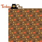 Thankful: Turkey Day 2 Piece Laser Die Cut Kit