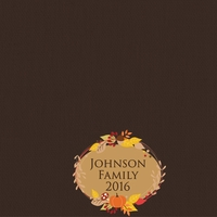 Thanksgiving: Custom Badge 12 x 12 Paper