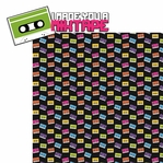 The 80's: Mixtape 2 Piece Laser Die Cut Kit