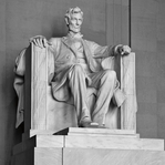 The Capitol: Lincoln Memorial 12 x 12 Paper