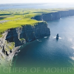 The Emerald Isle: Cliffs of Moher 12 x 12 Paper