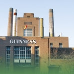 The Emerald Isle: Guinness Brewery 12 x 12 Paper