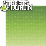 The Emerald Isle: Streets of Dublin 2 Piece Laser Die Cut