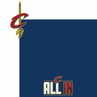 The Finals: Cavaliers 2 Piece Laser Die Cut Kit