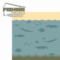 The Hunter: Fishing Trip 2 Piece Laser Cut Kit