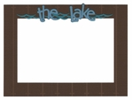 The Lake Laser Die Cut