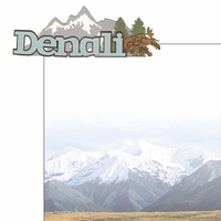 The Last Frontier: Denali 2 Piece Laser Die Cut Kit