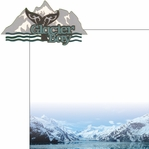 The Last Frontier: Glacier Bay 2 Piece Laser Die Cut Kit