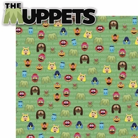 The Muppets: The Muppets 2 Piece Laser Die Cut Kit