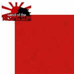 The Orient: Land Of The Rising Sun 2 Piece Laser Die Cut Kit