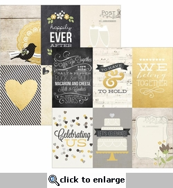 The Story of Us 4 x 6 Vertical Journaling Cards