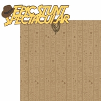 The Studios:Epic Stunt Spectacular  2 Piece Laser Die Cut Kit