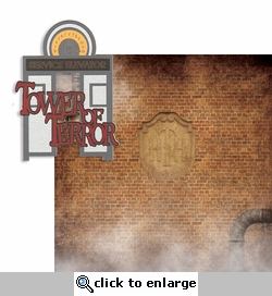 The Studios: Tower Of Terror 2 Piece Laser Die Cut Kit