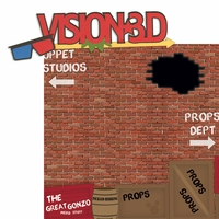 The Studios: Vision 3D  2 Piece Laser Die Cut Kit