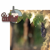 The Winery: Wine Country 2 Piece Laser Die Cut Kit