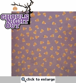 The Witching Hour: Ghouls Night Out 2 Piece Laser Die Cut Kit