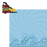 Theme Park: Let's Go Again 2 Piece Laser Die Cut Kit