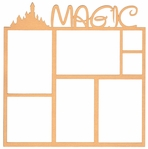 Theme Park: Magic 12 x 12 Overlay Laser Die Cut