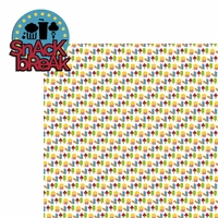 Theme Park: Snack Break 2 Piece Laser Die Cut Kit