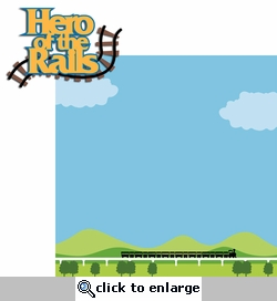 Thomas Train: Hero of the Rails 2 Piece Laser Die Cut Kit