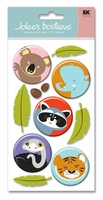 Tiger Mix Jolee's Le Grande Dimensional Stickers