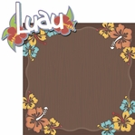 Tiki Bar: Luau 2 Piece Laser Die Cut Kit