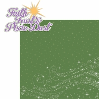 Tinkerbell: Faith Trust and Pixie Dust 2 Piece Laser Die Cut Kit
