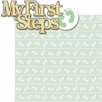 Tiny Fingers Tiny Toes: My First Steps 2 Piece Laser Die Cut Kit