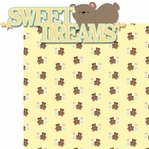 Tiny Fingers Tiny Toes: Sweet Dreams 2 Piece Laser Die Cut Kit