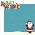 Tis' The Season: Dear Santa� 2 Piece Laser Die Cut Kit