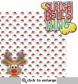Tis' The Season: Sleigh Bells Ring 2 Piece Laser Die Cut Kit