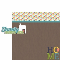 Together: Family Happens 2 Piece Laser Die Cut Kit