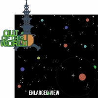 Tomorrow Land: Out Of This World Laser Die Cut Kit