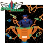 TomorrowLand: Space Ranger 2 Piece Laser Die Cut Kit