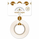 Touchdown: Footballs Washi Tape 15mm X 12yd