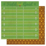 Touchdown Glittered Double Sided Cardstock 12 x 12