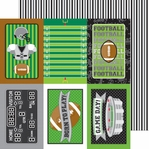 Touchdown: Sidelines 12 x 12 Double-Sided Cardstock