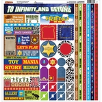 Toybox 12 x 12 Sticker Sheet